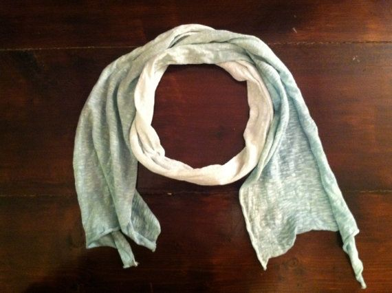 Green Ombré Scarf Gorgeous by MrsCaudillDesigns on Etsy, $15.00
