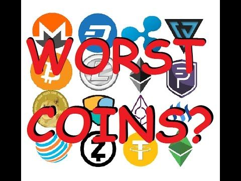 The most hyped cryptocurrencies