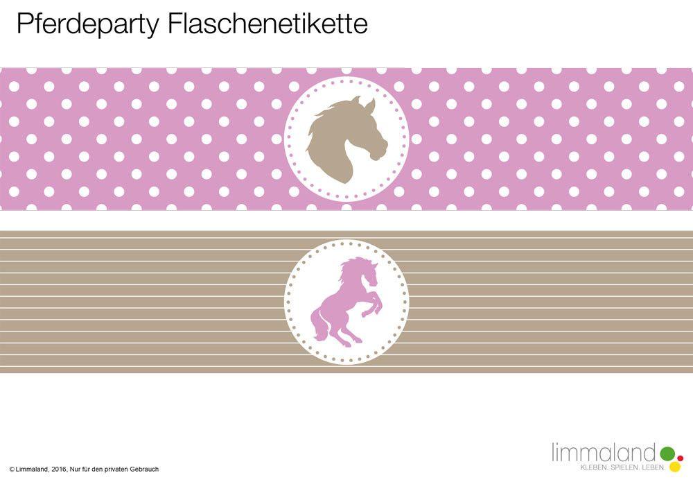 pferdegeburtstag das party paket f r den kindergeburtstag spielideen reiterinnen und flaschen. Black Bedroom Furniture Sets. Home Design Ideas