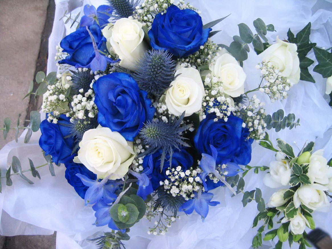 most beautiful bridal bouquets Blue Beautiful Wedding