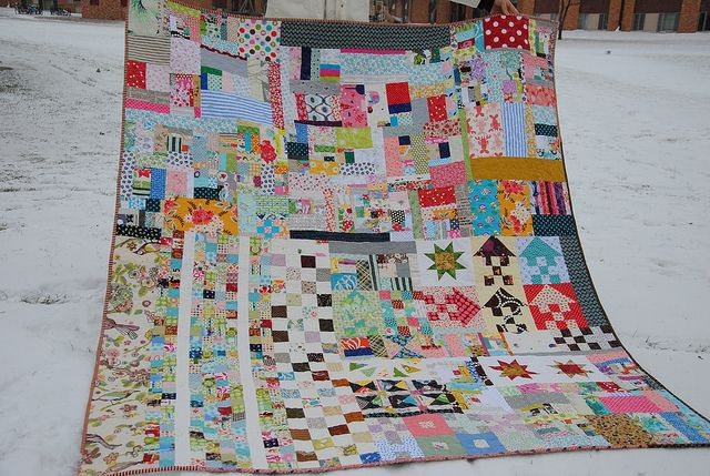 Everything But Kitchen Sink Quilt By Quarter Inch Mark Chase Via