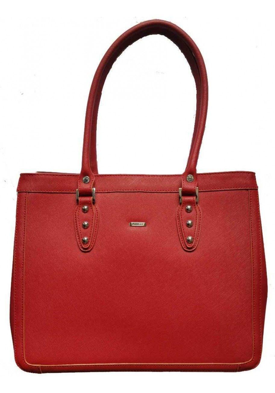 Milleni Morrissey Womens Genuine Italian Leather Double Handle Handbag Bag