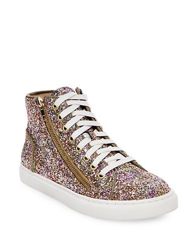 Sneakers Top Women's Steve Multi Glitter G High Earnst Madden Rq3Lj4A5