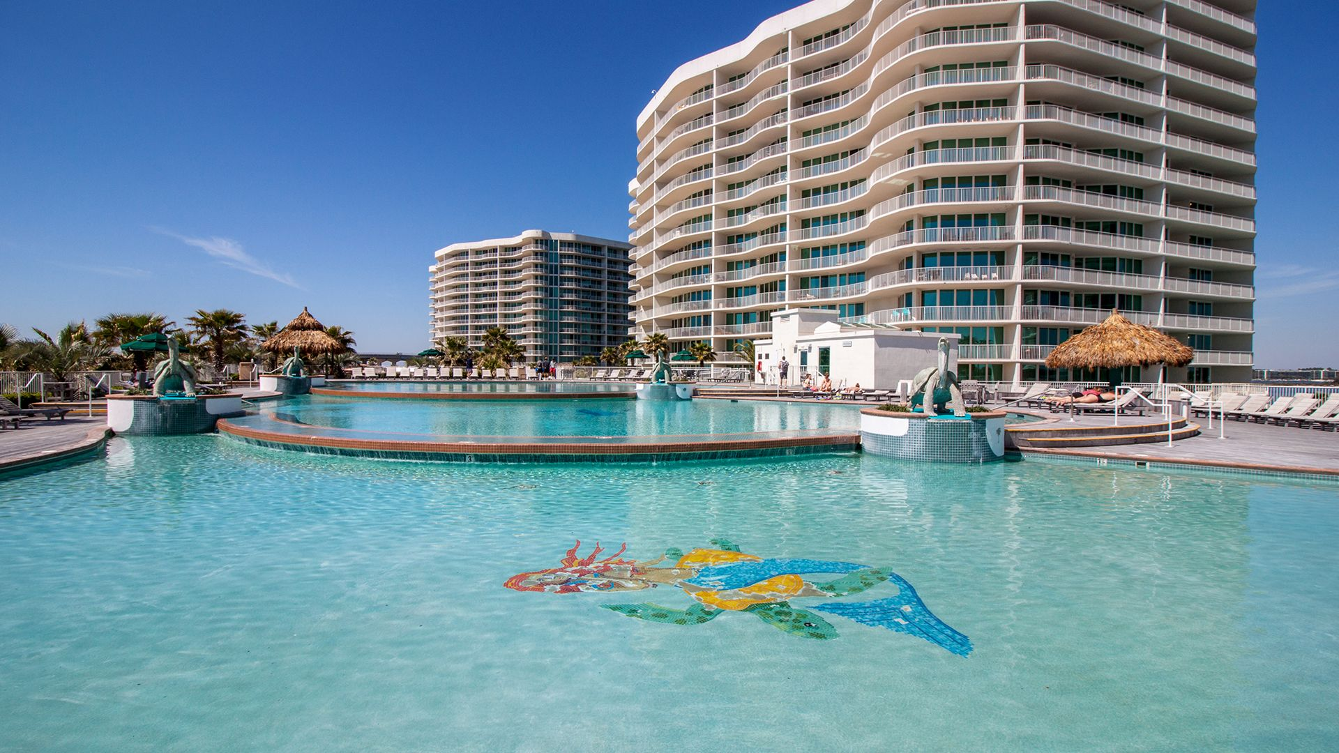 Designed With Families In Mind Caribe Resort Offers A Wide Range Of Relaxing Amenities You Wo Orange Beach Vacation Beach Vacation Rentals Orange Beach Condo