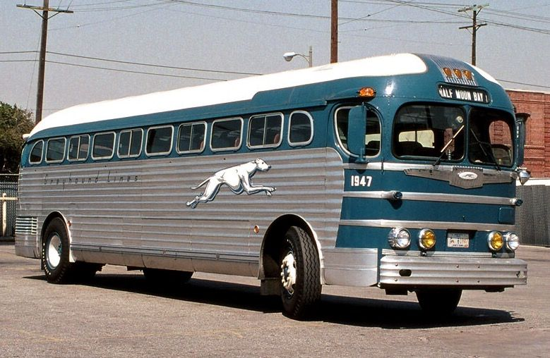 47 Gmc Greyhound Bus Greyhound Bus Greyhound Old School Bus