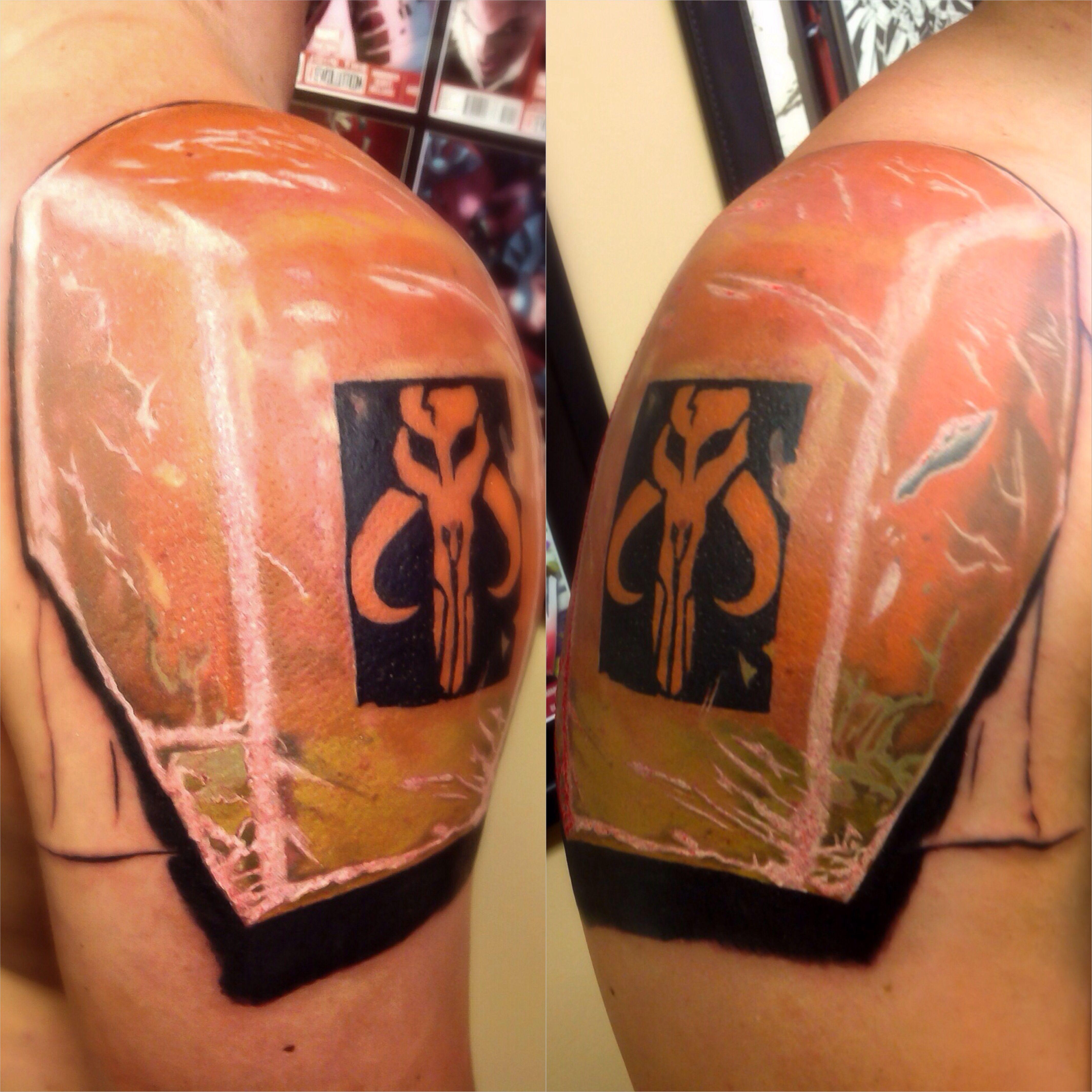 Boba Fett Star Wars armor color tattoo tattoos   Tattoos   Pinterest
