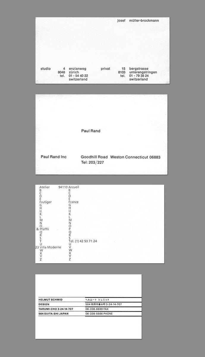 Business cards of minimal designers business cards minimal and business cards of minimal designers magicingreecefo Image collections