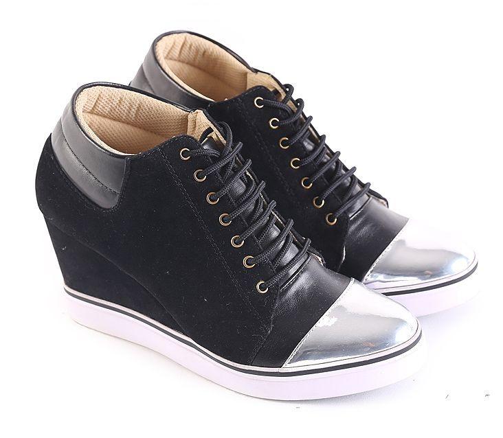 Garsel L586 Sepatu Boots Wanita Hitam Sepatu Boots Sepatu