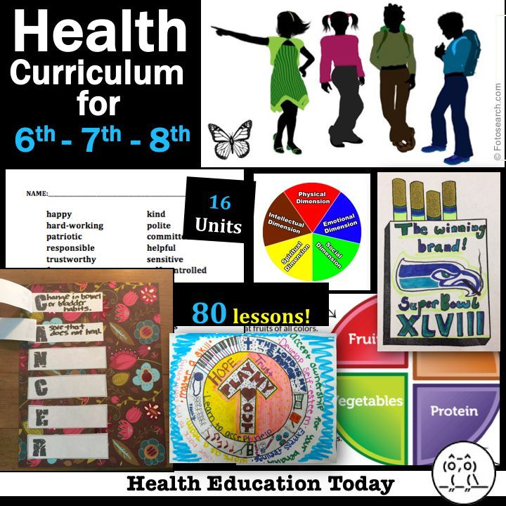 Middle School Health Lessons  This is TPTs bestselling Middle School Health curriculum The program was created by a National Board Certified Health teacher with 19 years...