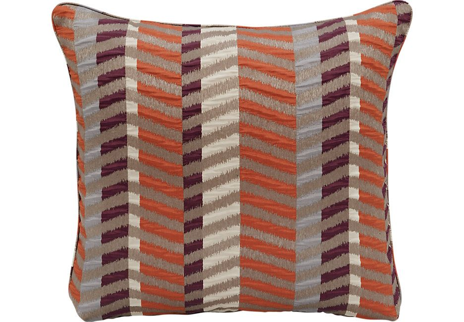 ISofa Gypsy Beet Accent Pillows Set Of 40 From Furniture Kitchen Beauteous Earth Tone Decorative Pillows