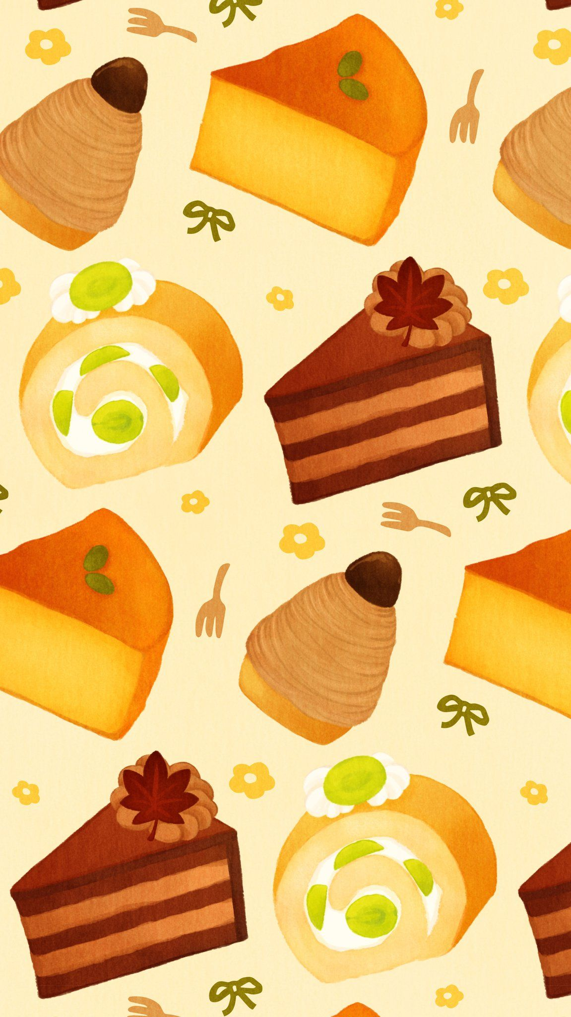 Omiyu みゆき On Twitter In 2020 Cake Wallpaper Kawaii Wallpaper Food Wallpaper