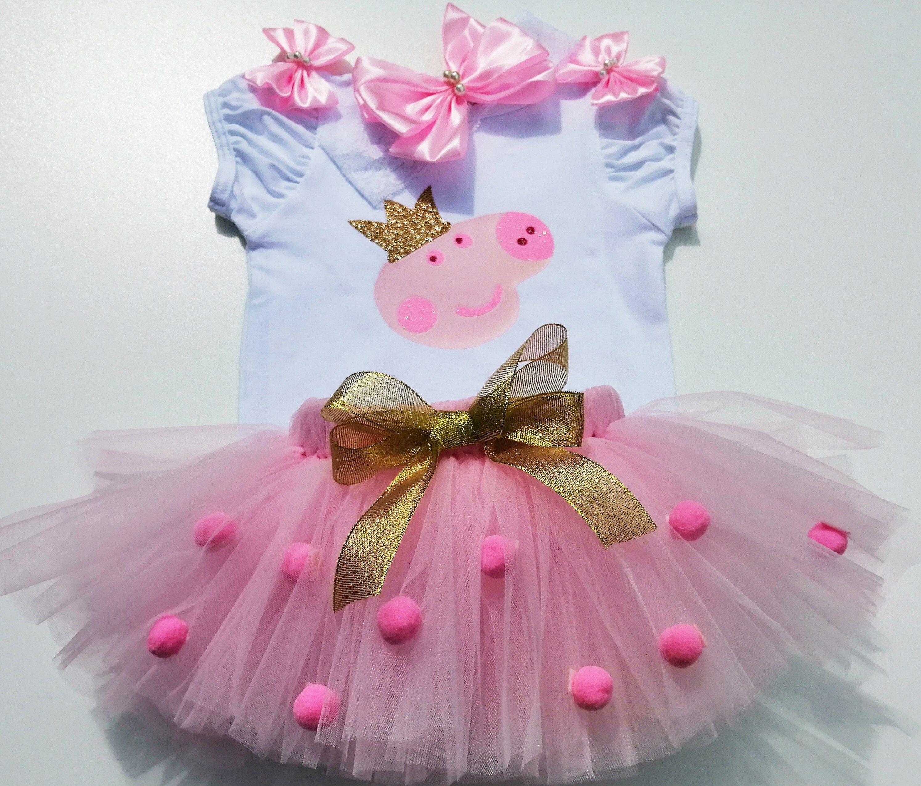 25+ Peppa pig birthday dress ideas