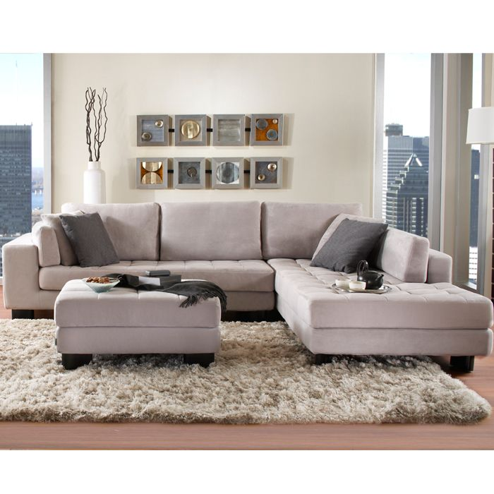 VEGAS FABRIC SECTIONAL   SECTIONALS   Living Room   New York Style Furniture    Mobilia Living