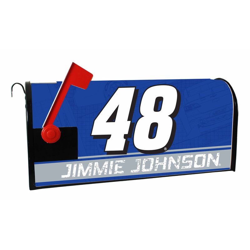Jimmie Johnson Mailbox Wrap