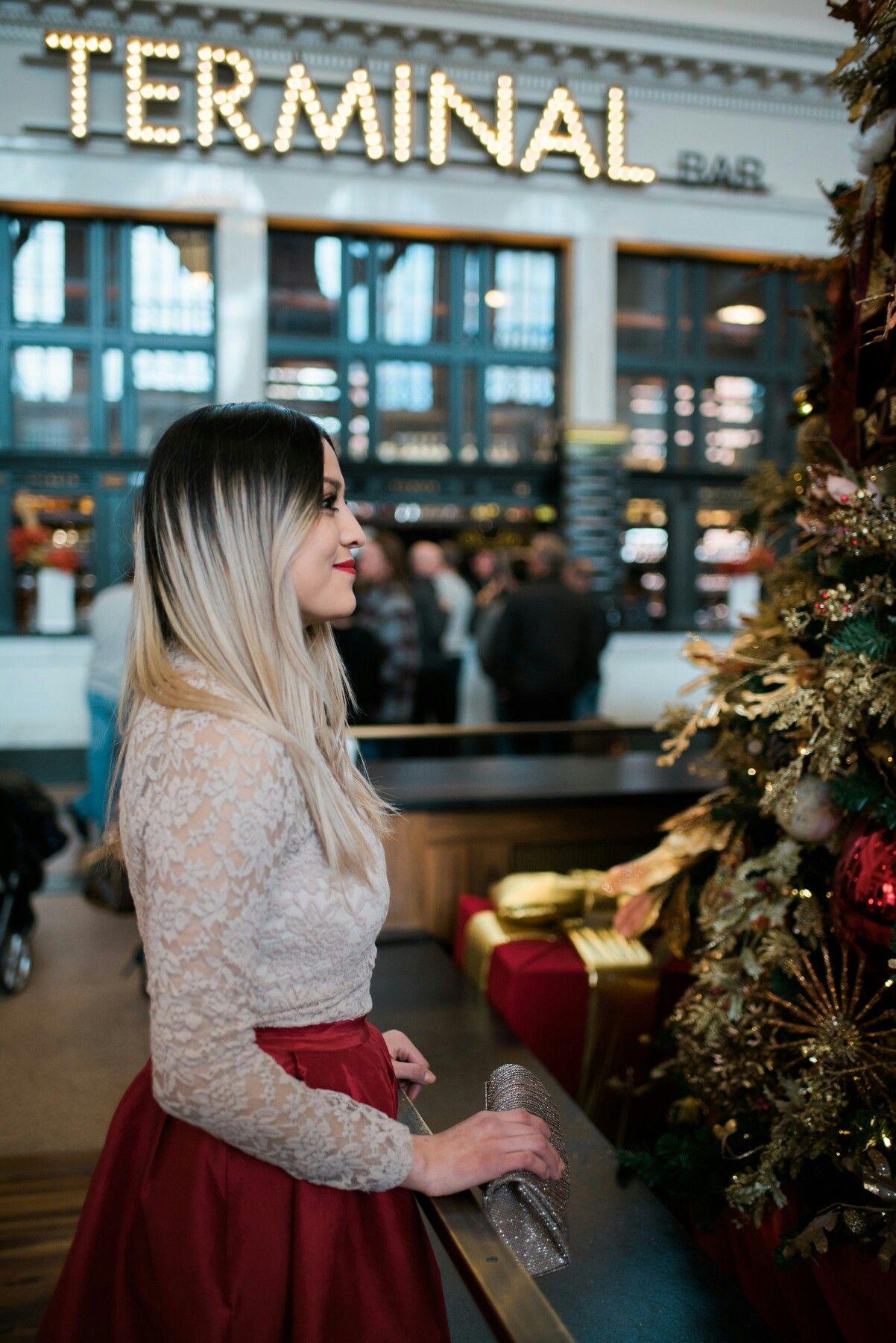 A Wish On Christmas Night Rophowa Christmas Night Red Midi Skirt Outfits