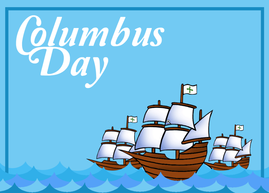 Today We Commemorate The Discovery Of The New World By Christopher Columbus In 1492 Happy Columbus Day Columbusda Happy Columbus Day Columbus Day Columbus