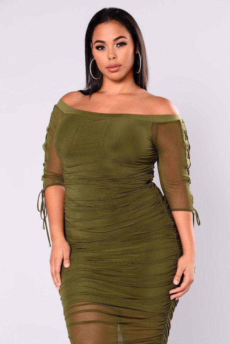 plussize Fashion nova outfits, Fashion, Off shoulder dress