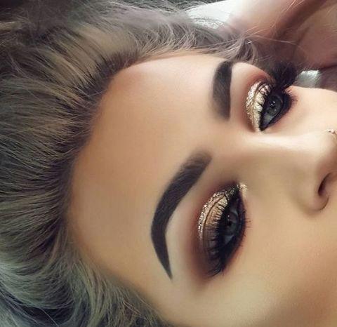 مكياج عرايس Perfect Makeup For Weddings Makeuplooks Beautiful Makeup Eye Makeup Hair Makeup
