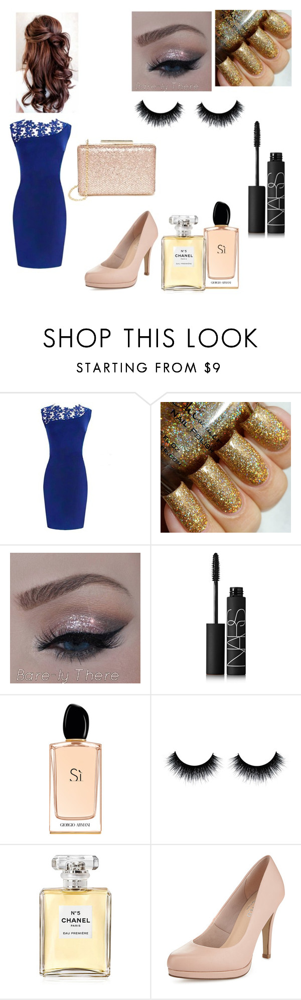 """""""New Year!!<3"""" by fashionfreak1603 ❤ liked on Polyvore featuring NARS Cosmetics, Giorgio Armani, Chanel, Limited Edition, Lulu*s, women's clothing, women's fashion, women, female and woman"""