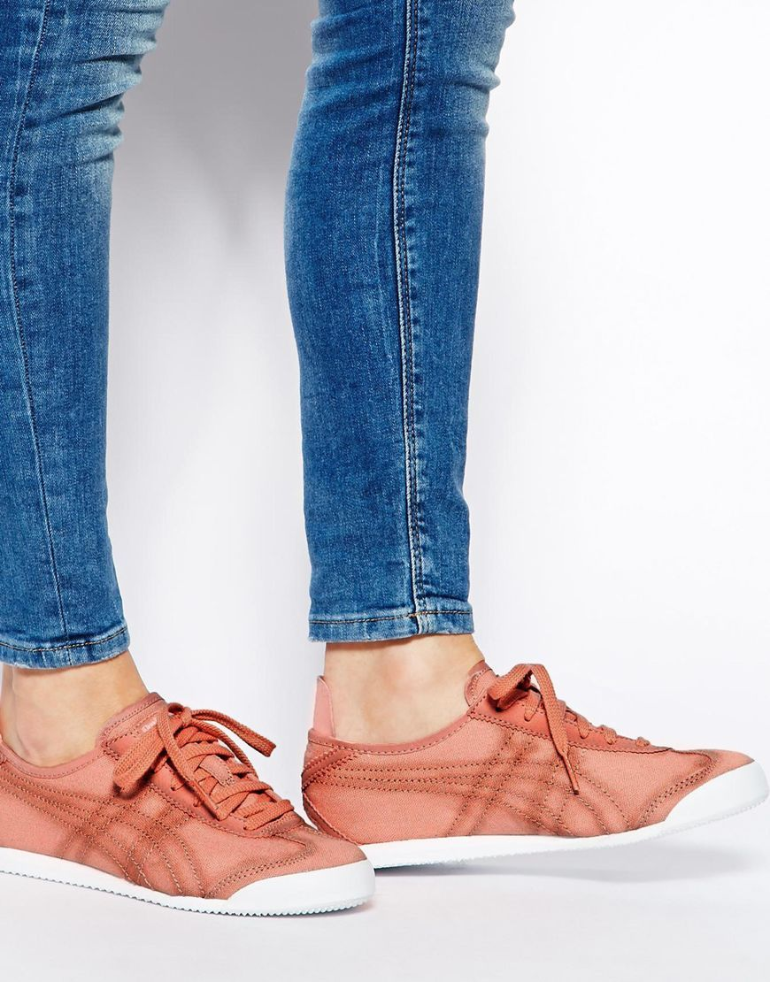 lowest price buying cheap new images of Pink | Onitsuka Tiger Mexico 66 Pink Sneakers at ASOS ...