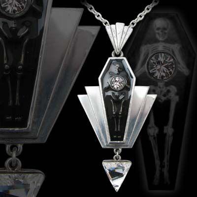 Alchemy Gothic - Coco Casket Jewel Necklace