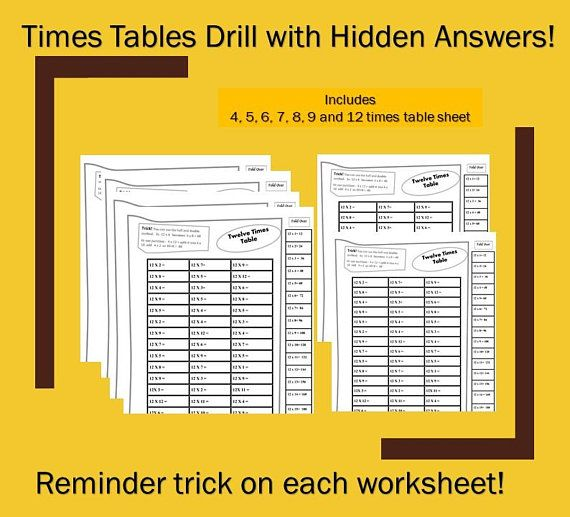 Times Tables Worksheets Pdf Printable With Answers Fun Multiplication Grade 4