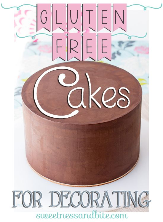Gluten Free Cakes for Cake Decorating. Suitable for covering in fondant and  for tiered cakes