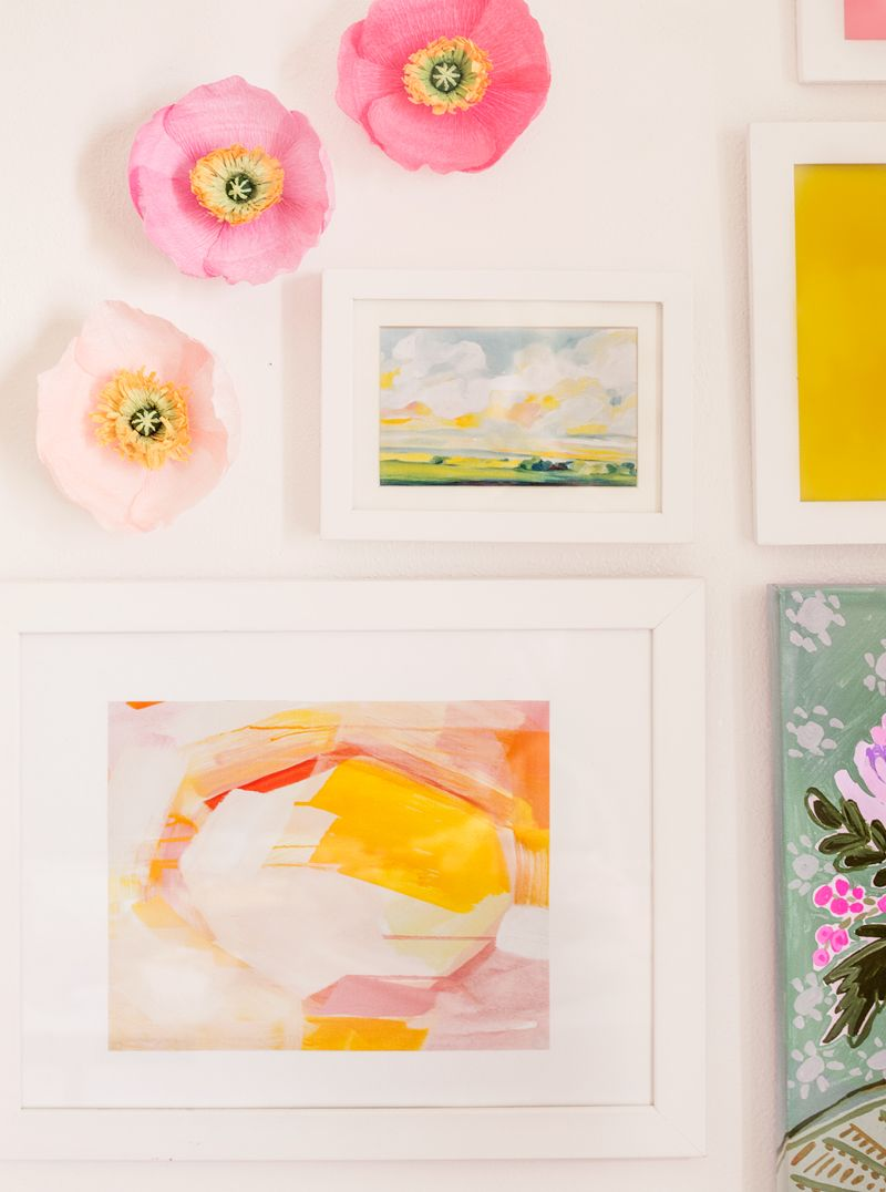 How To Make Paper Flowersappetitepaper Wallflowerspoppy16