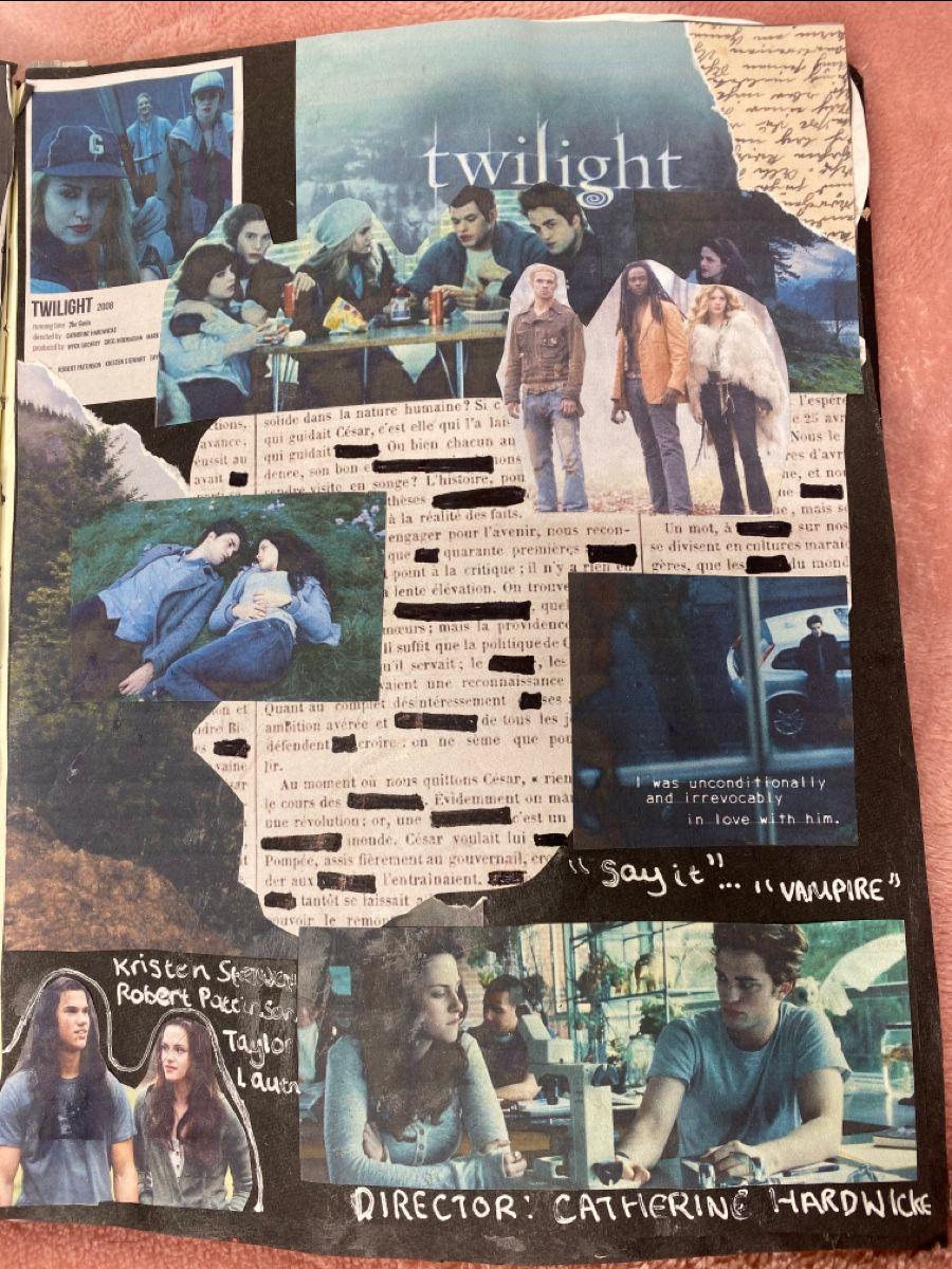 twilight film journal- @ journalwsophie_
