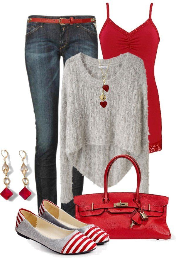 15 Casual Outfit Ideas For Valentineu0027s Day