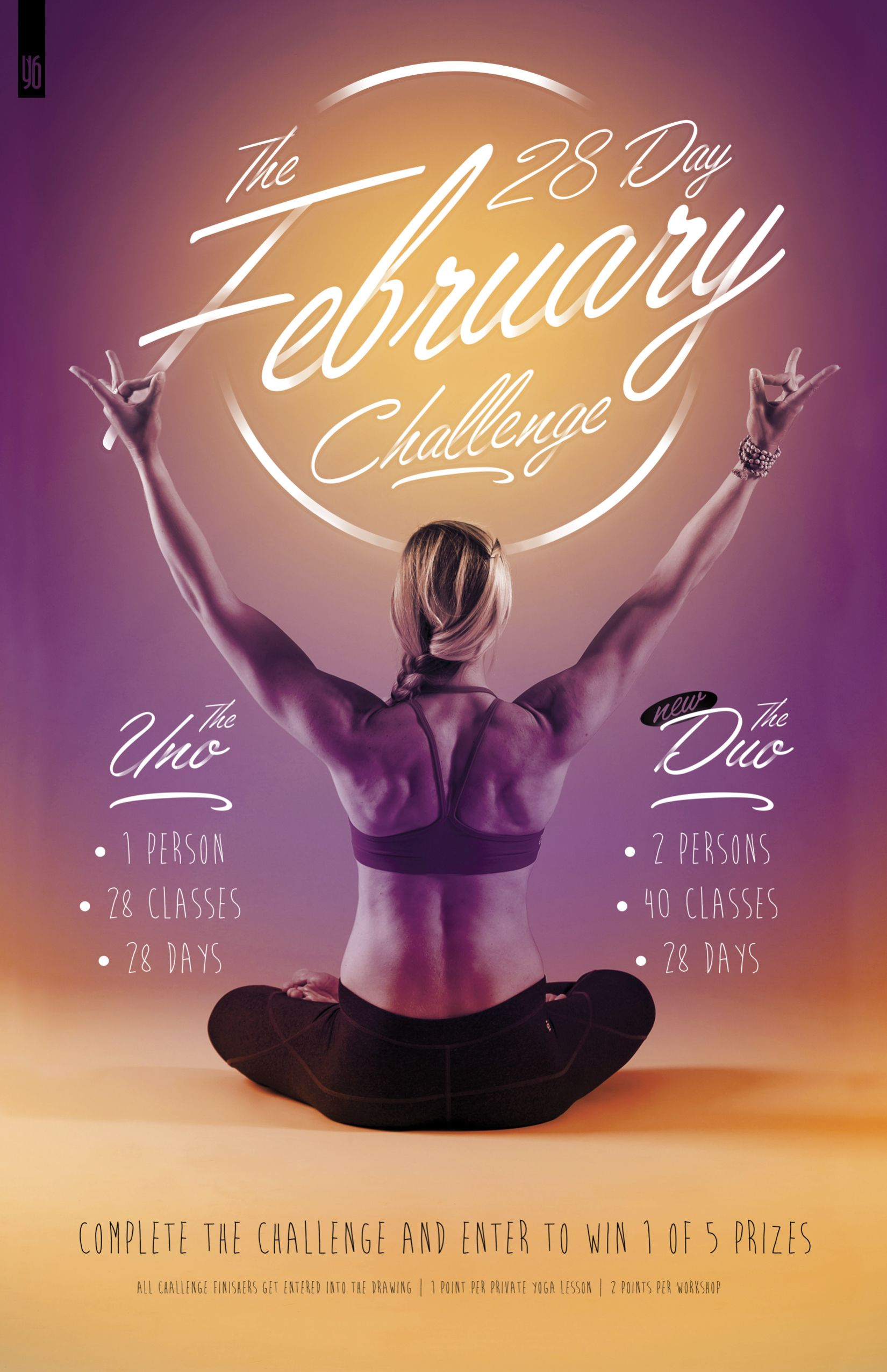 Oh Yeah Its On The February 28 Day Yoga Challenge Is Less