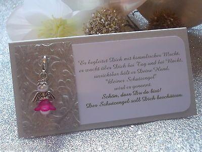 GastgeschenkTischkarteSchutzengelTaufe Hochzeit Kommunion Konfirmation  Konfirmation