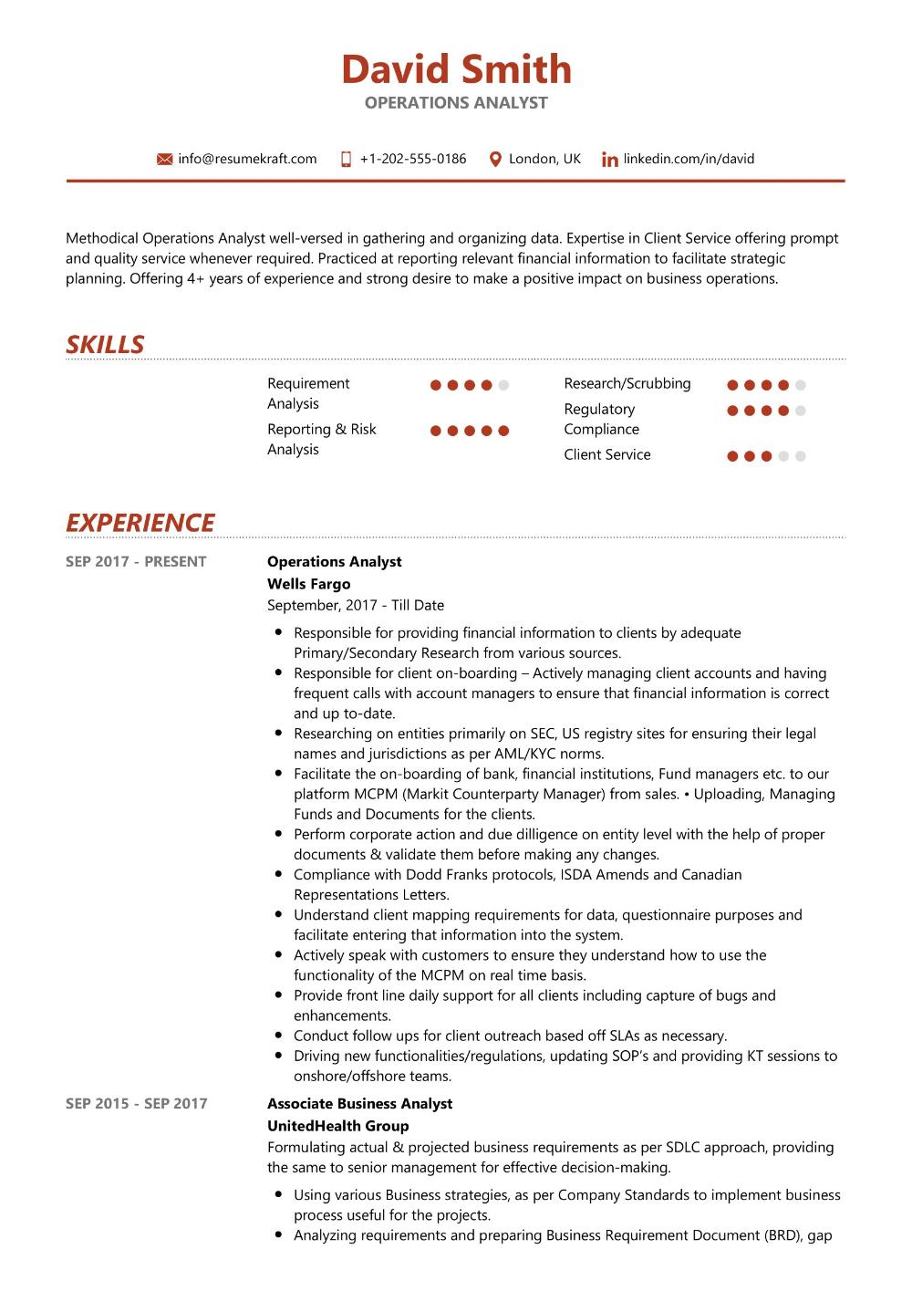 100 Professional Resume Samples For 2020 Resumekraft Data Analyst Resume Examples Business Data