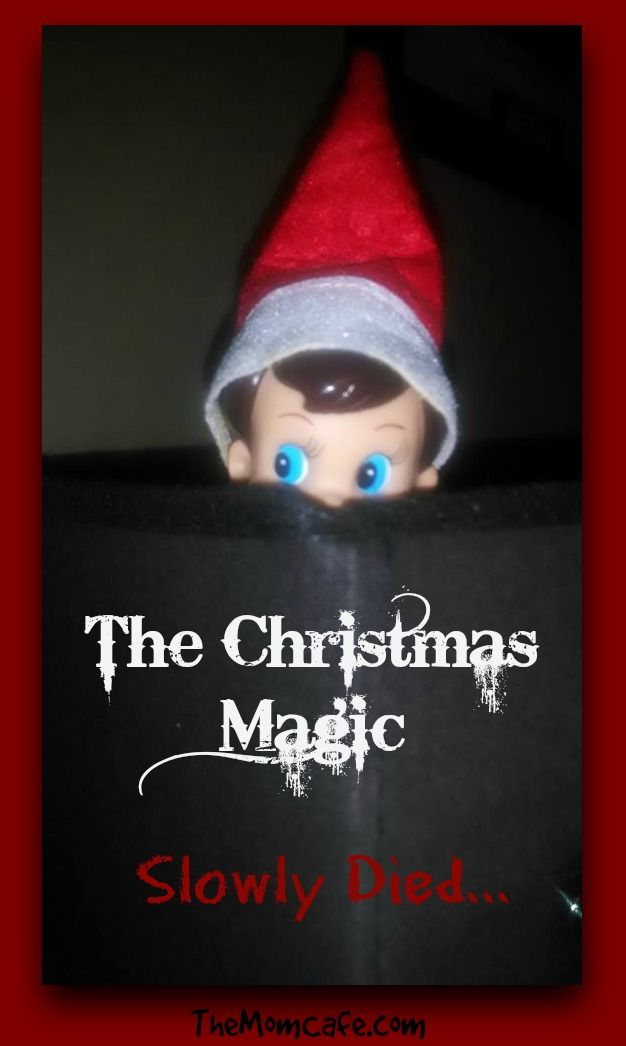 The Truth About Christmas.The Christmas Magic Slowly Died Encouragement From