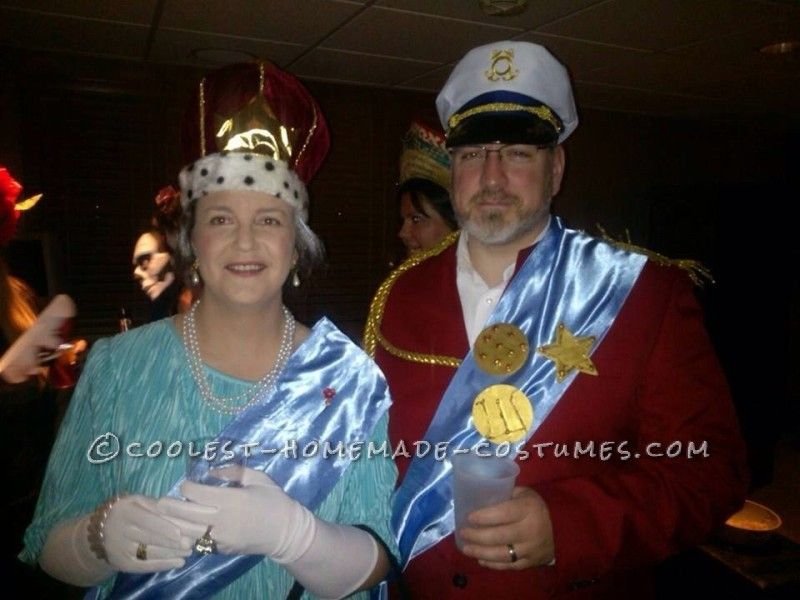 Regal Couple Costume Idea Her Royal Majesty Queen Elizabeth II and His Royal Highness Prince Phillip  sc 1 st  Pinterest & Regal Couple Costume Idea: Her Royal Majesty Queen Elizabeth II and ...