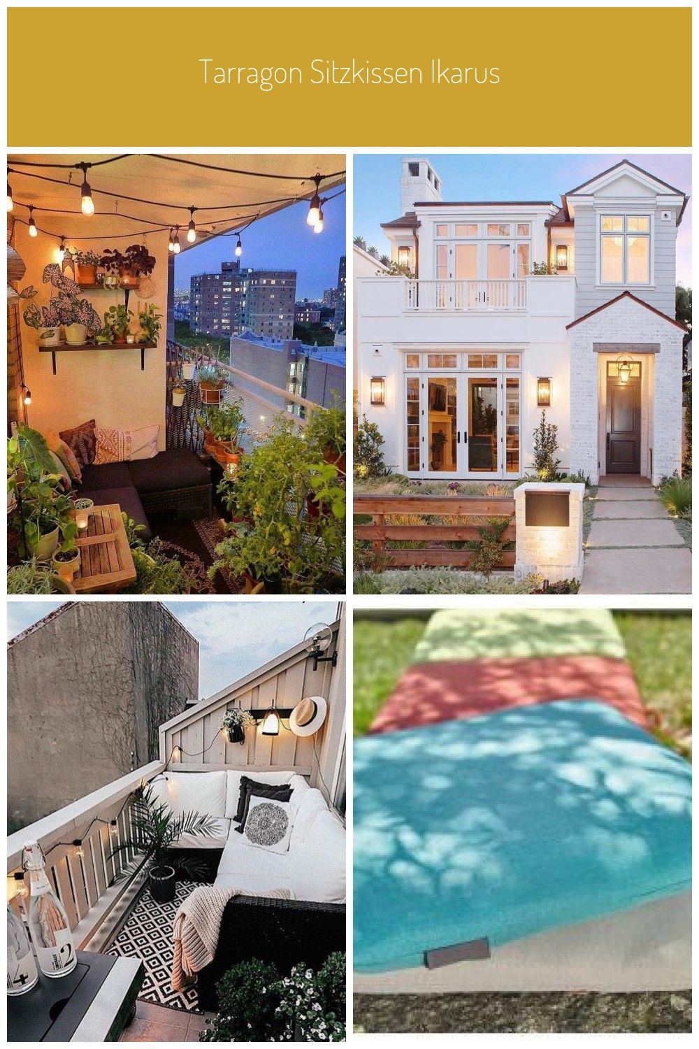 38 Smart Balcony Decoration for Your Small Apartment ...