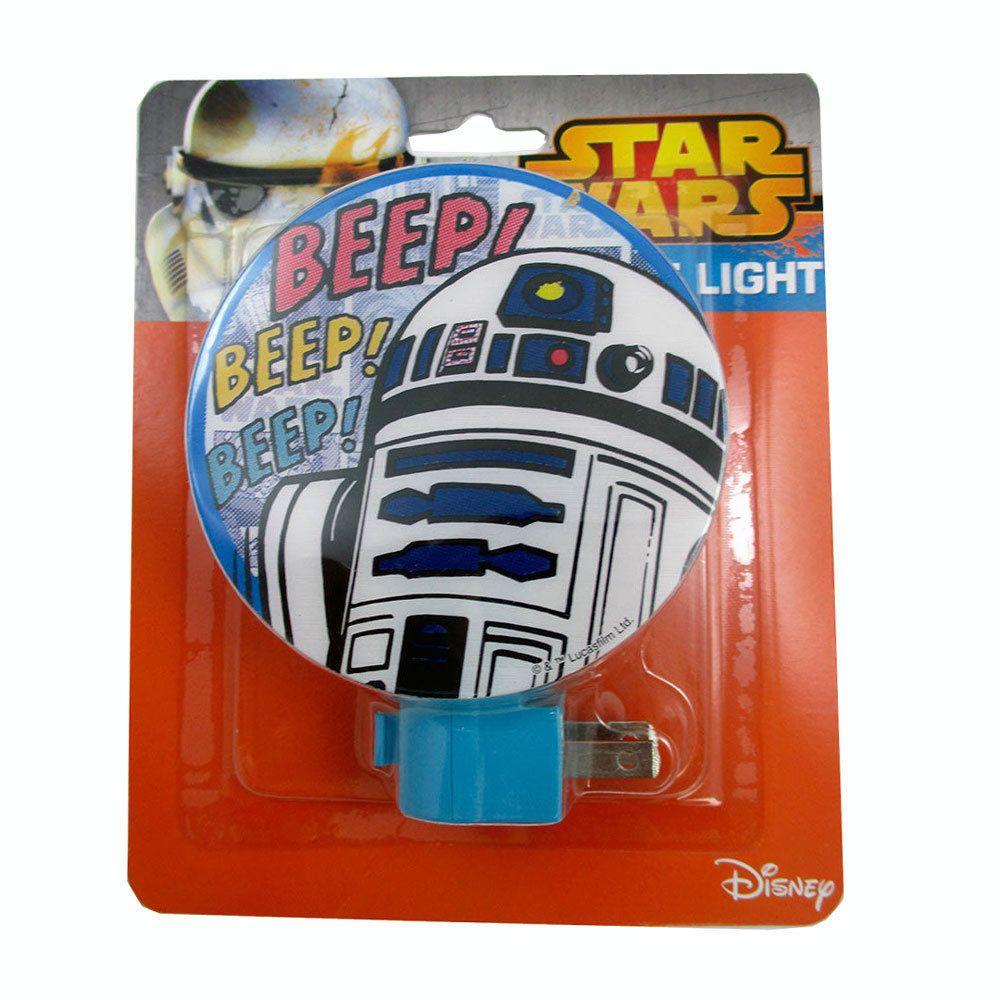 $3.71 Star Wars R2 D2 Plug In Adjustable Night Light Lamp