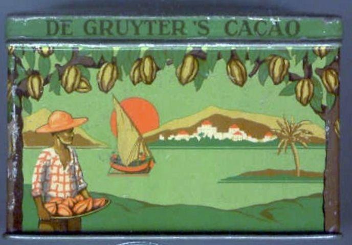 Cacaoblik jaren '30 de Gruyter