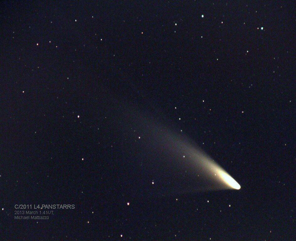 Hoy Por Hoy Los Ojos De Todo El Mundo Están Puestos En El Cielo Cuál Es La Razón Dos Cometas Cruzan El Firmamento Acercándose Al Sunset Sky Comet Cosmos