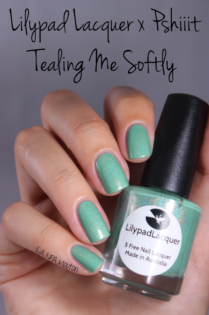 Lilypad Lacquer — Tealing Me Softly | Polishizm: Must (but not yet ...