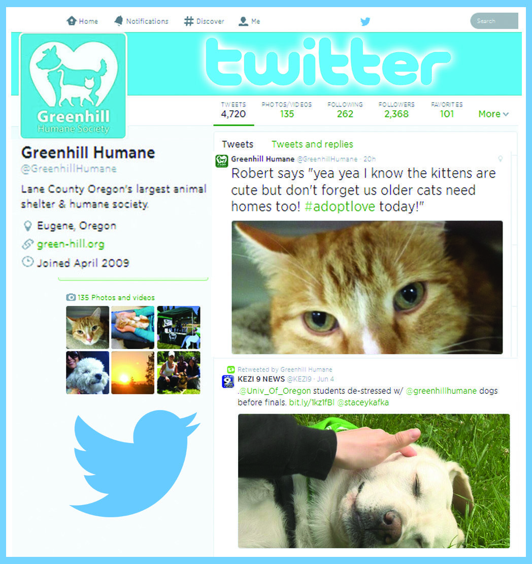 Greenhill Humane Society on Twitter at