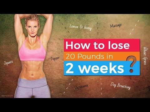 How to lose belly fat and back fat in 2 weeks