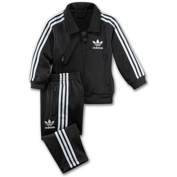 de319432625 Adidas Infants & Toddlers Firebird Track Suit ($30) ❤ liked on Polyvore  featuring baby, baby clothes, baby stuff, kids and kids clothes