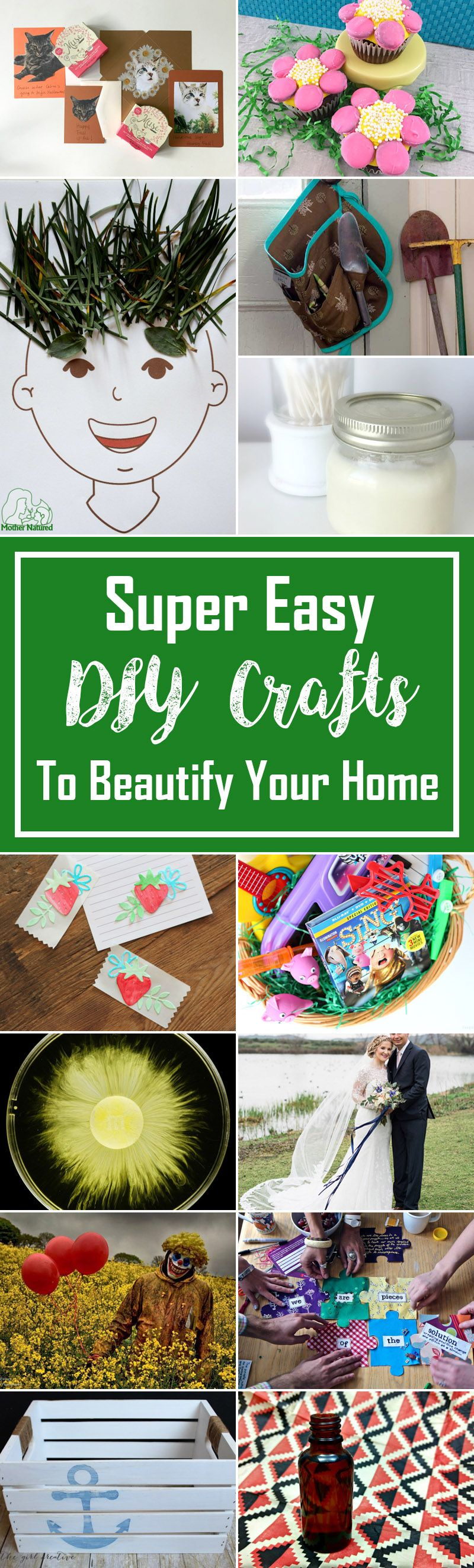 40 Super Easy Diy Crafts To Beautify Your Home