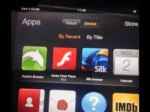 Install Flash Player to the Kindle Fire, HD, HDX YouTube