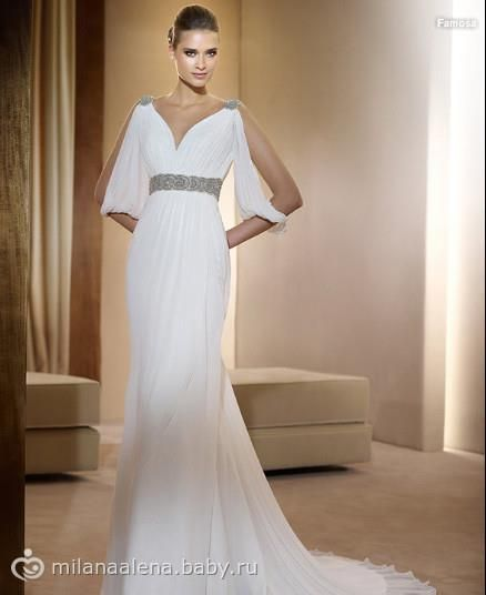 cecf7f6eff6 Платье для девочки греческий стиль Греческие Свадебные Платья