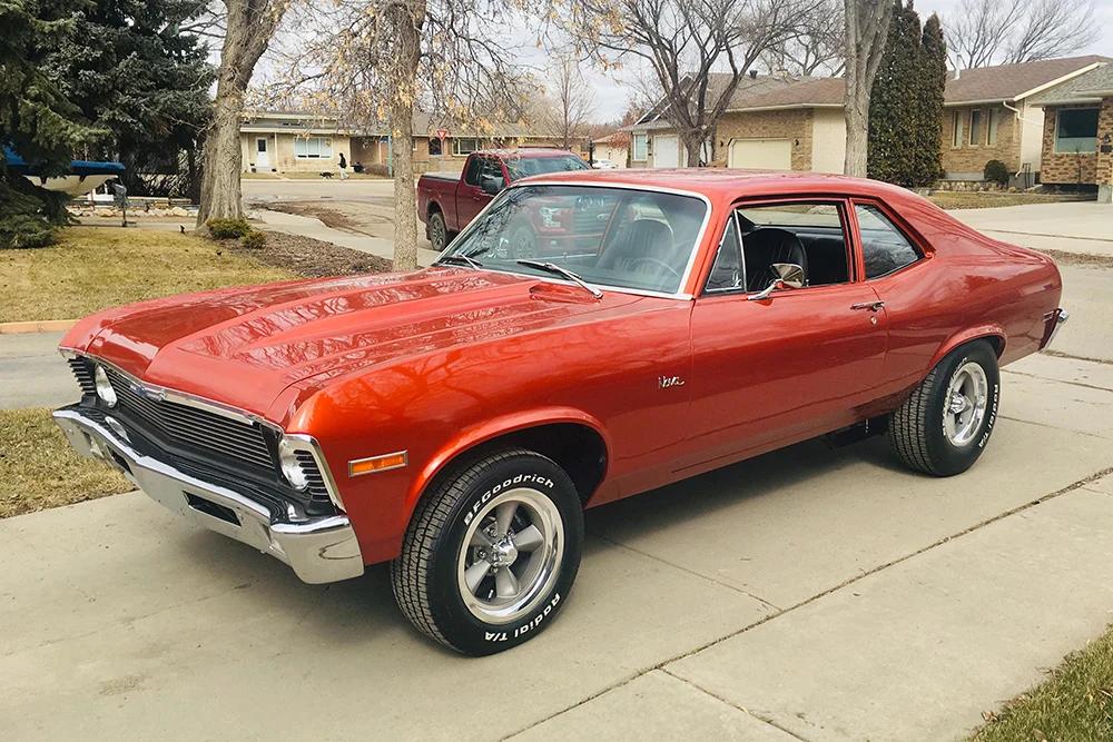 1972 Nova Completing The Transformation In 2020 Car Classic Car Restoration Nova