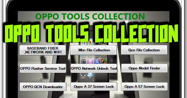DownloadOppo Tools Collection Feature: Baseband Fixer Network And