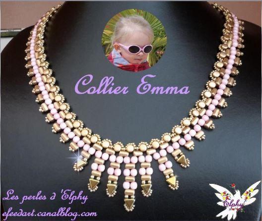 Schéma Emma - Khéops® par Puca® - Perles de Provence