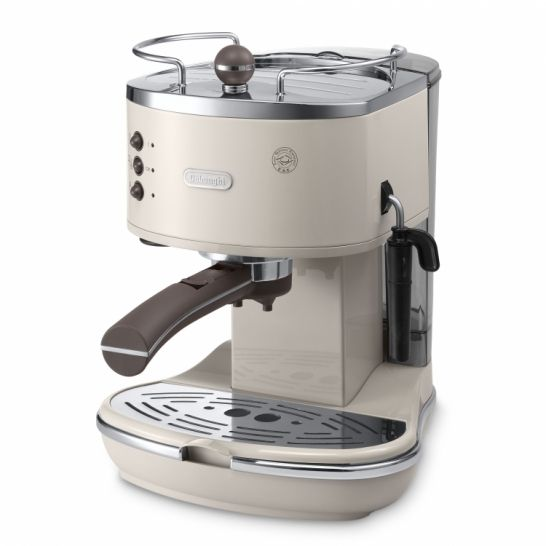 Make coffee in seconds with the retro inspired De'Longhi